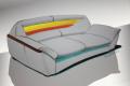 Разработка новой модели дивана. Проект. Бумага, фломастер.