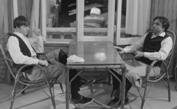 Учебная работа – короткометражный фильм по мотивам рассказа Эрнеста Хемингуэя – «Там, где светло и чисто».