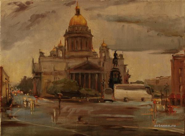 Исакиевкий собор. Санкт-Петербург