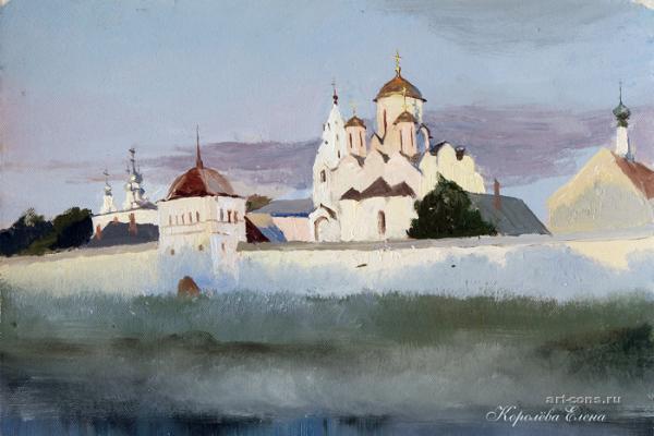 Покровский монастырь. Рассвет