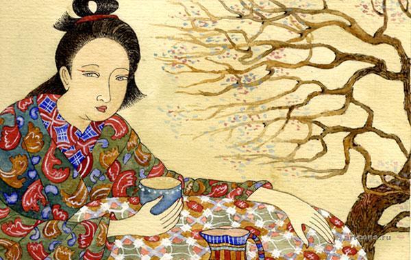 Чаепитие под сакурой