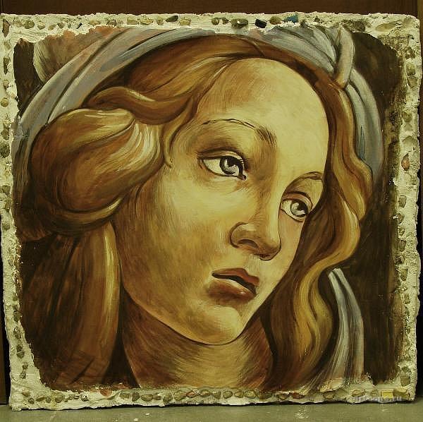 фреска копия Боттичелли