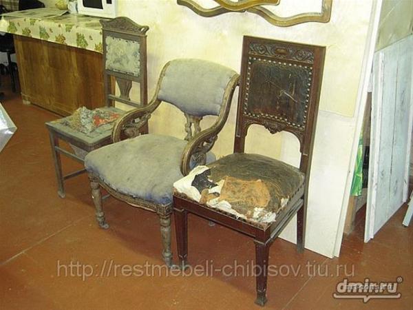 Реставрация старинных стульев