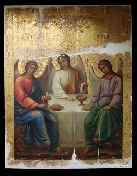 Святая Троица 19 век. До реставрации