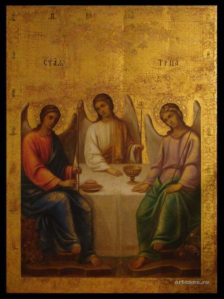 Святая Троица 19 век. После реставрации.