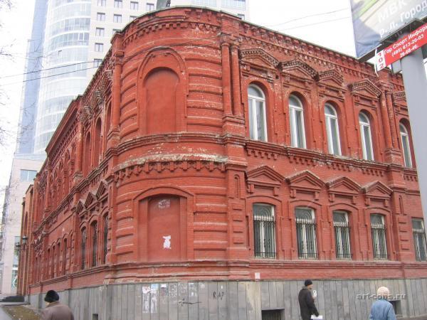Дом бр. Серебряковых до реставрации. Фото 2007 г.