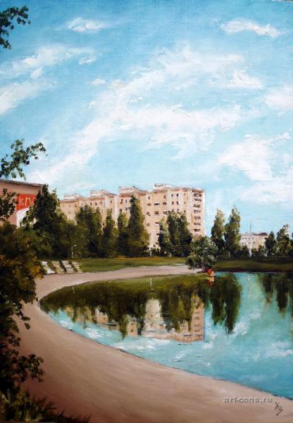 Лебединое озеро на Минской