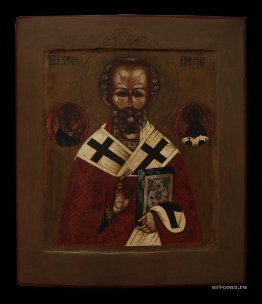 Николай Чудотворец XIX век. после реставрации.