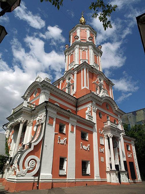 Кто архитектор «Меньшиковской башни»?