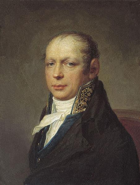 Чей портрет работы С. С. Щукина, написанный около 1804 года?