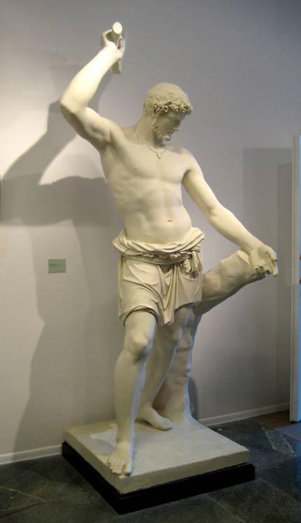 Кто автор скульптуры «Русский Сцевола»?