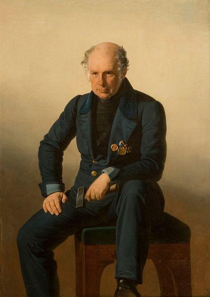 Чей портрет неизвестного автора?