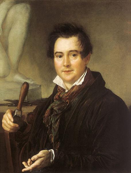 Чей портрет кисти В. Тропинина 1839 года создания?