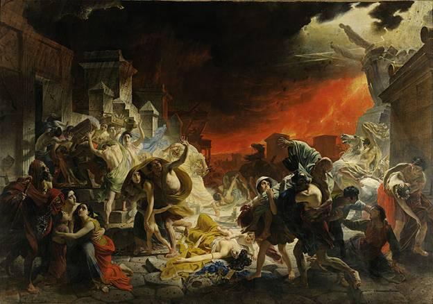 Когда Карлом Брюлловым написан «Последний день Помпеи»?