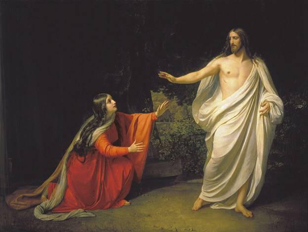 Кто автор полотна «Явление Христа Марии Магдалине после воскресения»?