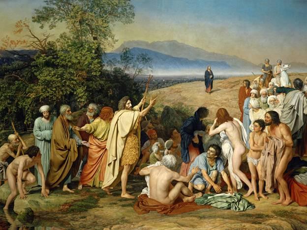 Когда было написано А.Ивановым грандиозное полотно «Явление Христа народу»?