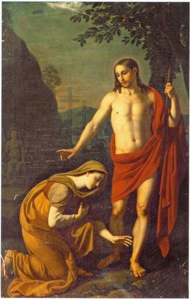 Явление Христа Марии Магдалине, 1818 год
