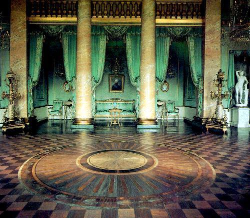 Голубой зал. Останкинский дворец.