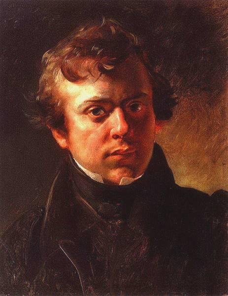 Чей портрет, написанный в 1834 г. К. Брюлловым?