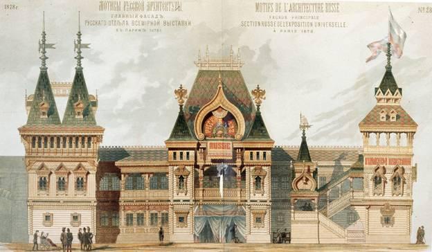 Кто архитектор Русского отдела на Всемирной парижской выставке?