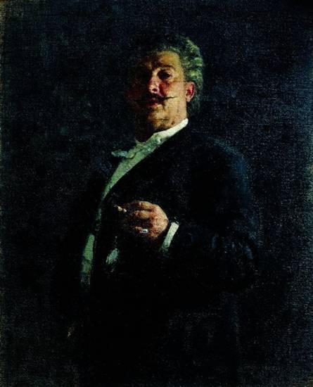 Чей портрет работы Ильи Репина?