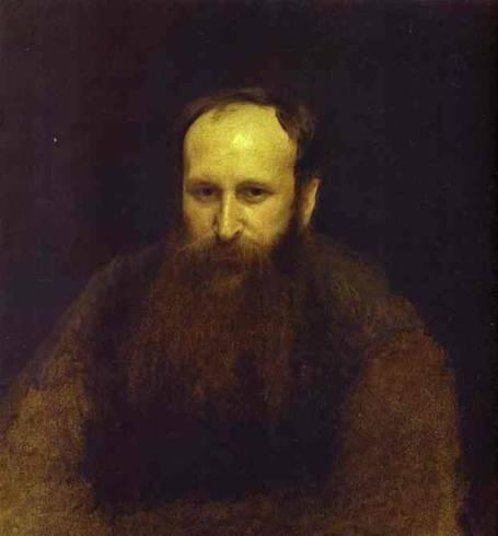 Чей незаконченный портрет кисти И.Крамского 1883 года создания?