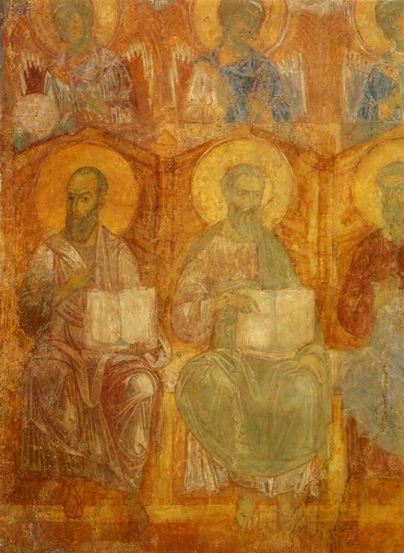 Откуда этот фрагмент фрески «Страшный Суд»?