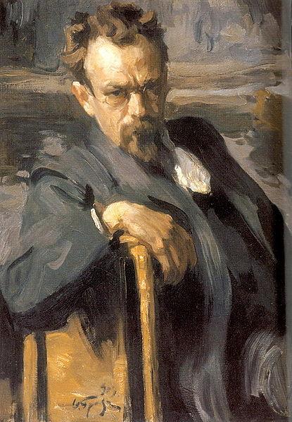 Чей портрет работы О. Э. Браза?