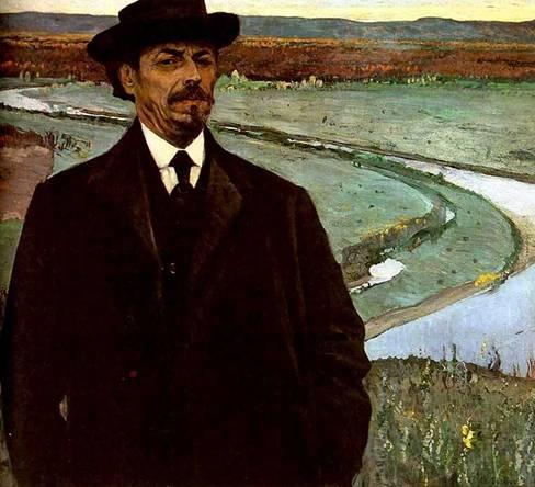 Чей автопортрет, созданный в 1915 г.?