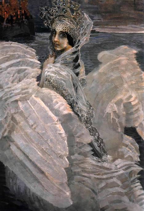 Кто автор картины «Царевна-Лебедь»?