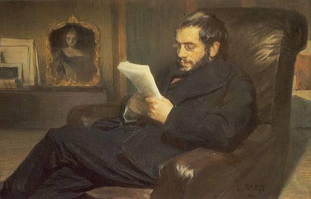 Чей портрет работы Леона Бакста 1898 года создания?