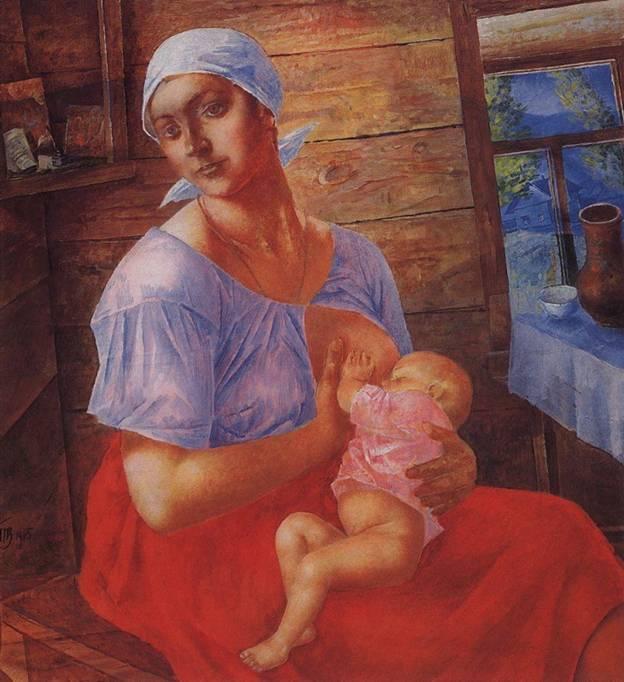 """Кто автор картины """"Мать"""" (1915)?"""