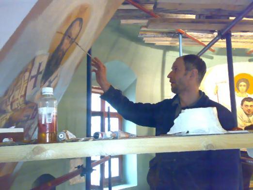 Реставратор, живописец